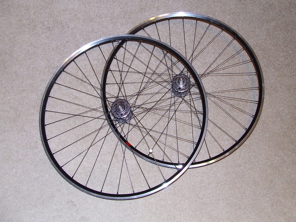 Completed Wheelset