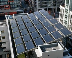 solar panel on Net Zero Building (by: City of Vancouver)