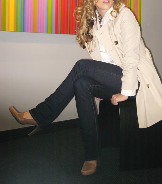 Burberry Trench - J Brand Jeans - Via Spiga Shoes