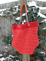 """Candice"" handbag (Momika21) Tags: wool felted bag sweater hand recycled handmade felt made purse etsy handbag reclaimed fulled momika"