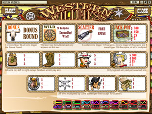 free Western Wildness slot mini symbol