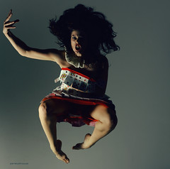 Dance fever IV (Eni Turkeshi Imagery) Tags: light portrait people face square dance jump eyes atmosphere expressionist expressive series emotions tones aliceinwonderland palabra dancefever thecontinuum marielito fotografeshqiptare independentphotos fotografca storiesbehindimages