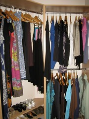 Wardrobe after