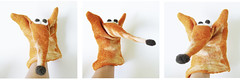 Fox hand puppet (fingtoys) Tags: orange puppet cheeky fox anima handpuppet