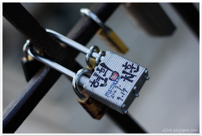 The lock of love