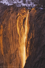 Liquid Sunshine - Horsetail Falls, Yosemite National Park, California (Jim Patterson Photography) Tags: california sunset panorama nature landscape waterfall yosemitenationalpark polarizer elcapitan horsetailfalls nikkor70200mm goldnblue nikond300 jimpattersonphotography jimpattersonphotographycom seatosummitworkshops seatosummitworkshopscom