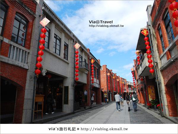 【宜蘭傳藝中心】跟著via走入這條最有年味的老街