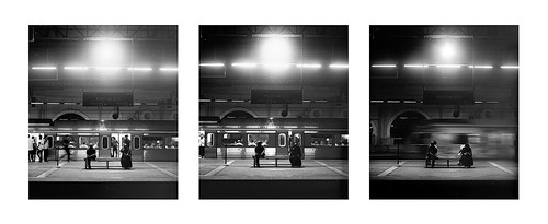 Passing by - Triptych