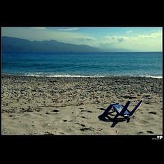 Winter Beach - Once Upon A Time (Osvaldo_Zoom) Tags: winter sea italy beach broken clouds marina landscape seaside chair nikon empty reggiocalabria calabria desolation messinastrait d80 gallico artofimages bestcapturesaoi winterbeachproject