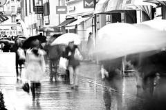 insubstantial specters i (The Cassandra Project) Tags: motion blur rain umbrella shopping schweiz switzerland experimental suiza action swiss luzern rainy bewegung abstraction svizzera lucerne shopper sveitsi 100mmf28 innerschweiz unschrfe zentralschweiz centralswitzerland takerculture