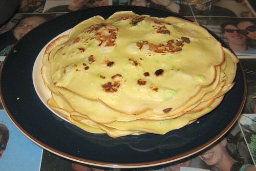 SCALLION CREPES