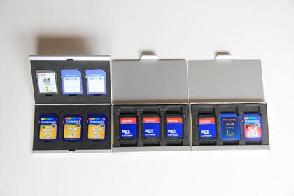 SANYO Xacti SDカードケース