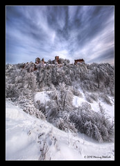 Castle Tęczyn - vertorama (Mariusz Petelicki) Tags: winter zima hdr zamektęczyn 2x3xp mariuszpetelicki castletęczyn
