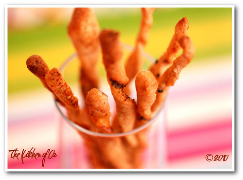 Twisted Breadsticks with Herbs