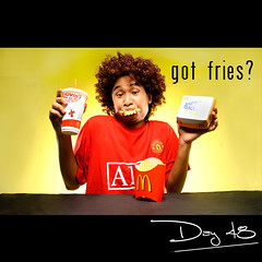 Day 48:got fries? (L S G) Tags: portrait selfportrait sb600 mcdonalds fries seamless d3 sb24 project365 365days strobist 365daysproject yellowgel nikond3 4lightsetup gotfries 365daysvv
