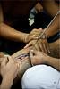 Helping Hands (Ursula in Aus (Away Travelling)) Tags: tattoo thailand yantra tattooing waikhru nakhonpathom นครปฐม ประเทศไทย sakyant tattoofestival รอยสัก watbangphra nakhonchaisi earthasia nakhonchaisri totallythailand วัดหลวงพ่อเปิ่น ครู รูปสัก วัดบางพระ ลายสัก สักยันต
