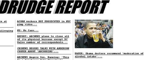 Drudge is a dick