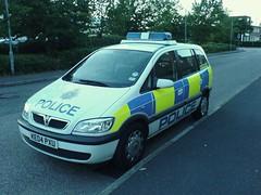 HERTS POLICE VAUXHALL (NW54 LONDON) Tags: police 999 policecars emergencyvehicle vauxhallzafira hertfordshirepolice