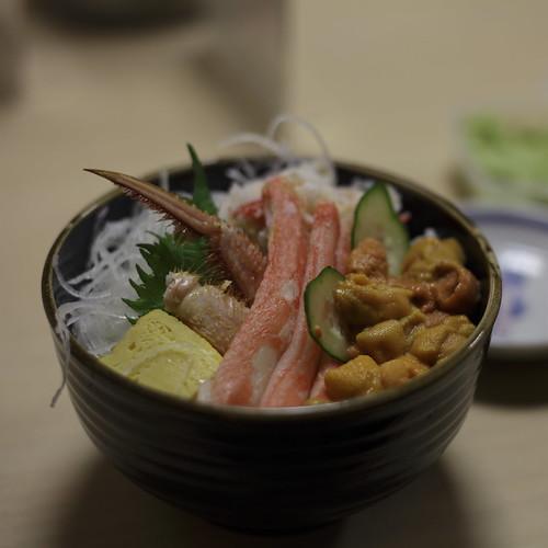 ウニカニ丼(札幌)