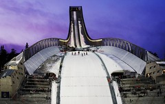 New Oslo Holmenkollen ski jump in Norway #4