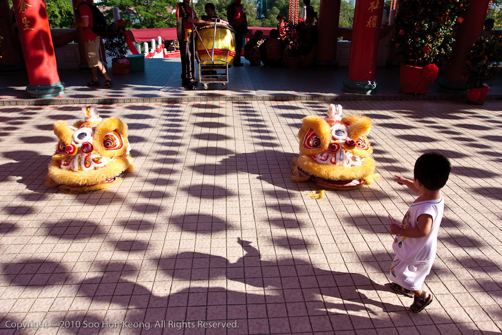 Ah Lion Dance @ Thean Hou Temple, KL, Malaysia