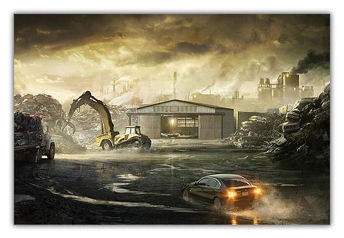 Heavy Rain (Artwork de François Baranger)