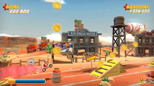 Joe Danger PSN Screenshot 3