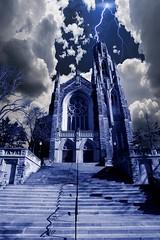 Wrath of God (Metro Tiff) Tags: ontario storm church worship catholic god religion hamilton bible lightningclouds