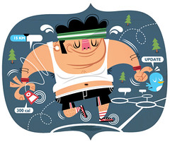 "weight loss (""dundo"") Tags: illustration socialnetwork weightloss dundo televisa twitter"