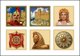 free Achilles slot game symbols