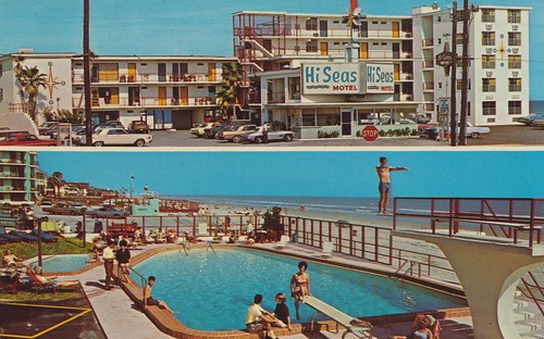 Hi Seas Beach Motel - Daytona Beach, Florida