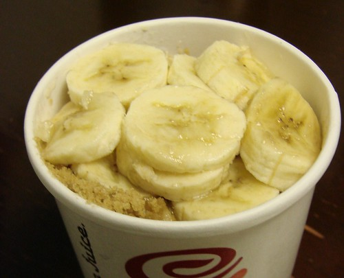 Banana Oatmeal from Jamba