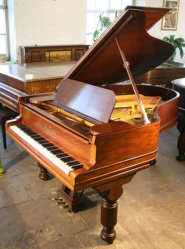 Rosewood, Steinway & Sons Model A Grand Piano at Besbrode Pianos Leeds