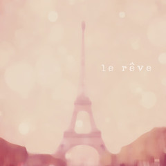 Le Rve (Corin Jones) Tags: pink abstract paris soft bokeh feminine eiffeltower dream ethereal reve hbw bokehlicious