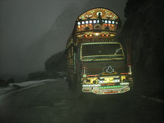 famous pakistani truck on kkh (biantha) Tags: pakistan snow mountains north kkh nagarfort wintersurfing gupis khaltilake
