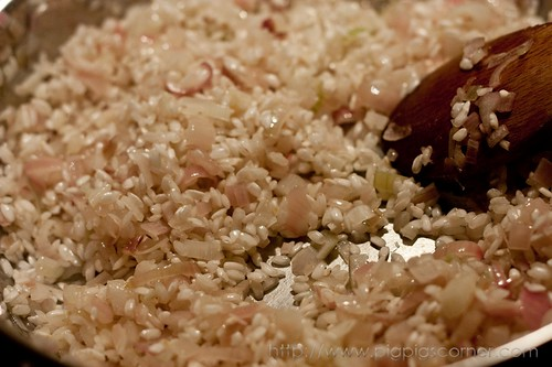 strawberry risotto with balsamic vinegar 3