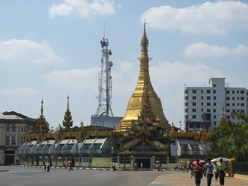 Sule Paya, Yangon, Burma