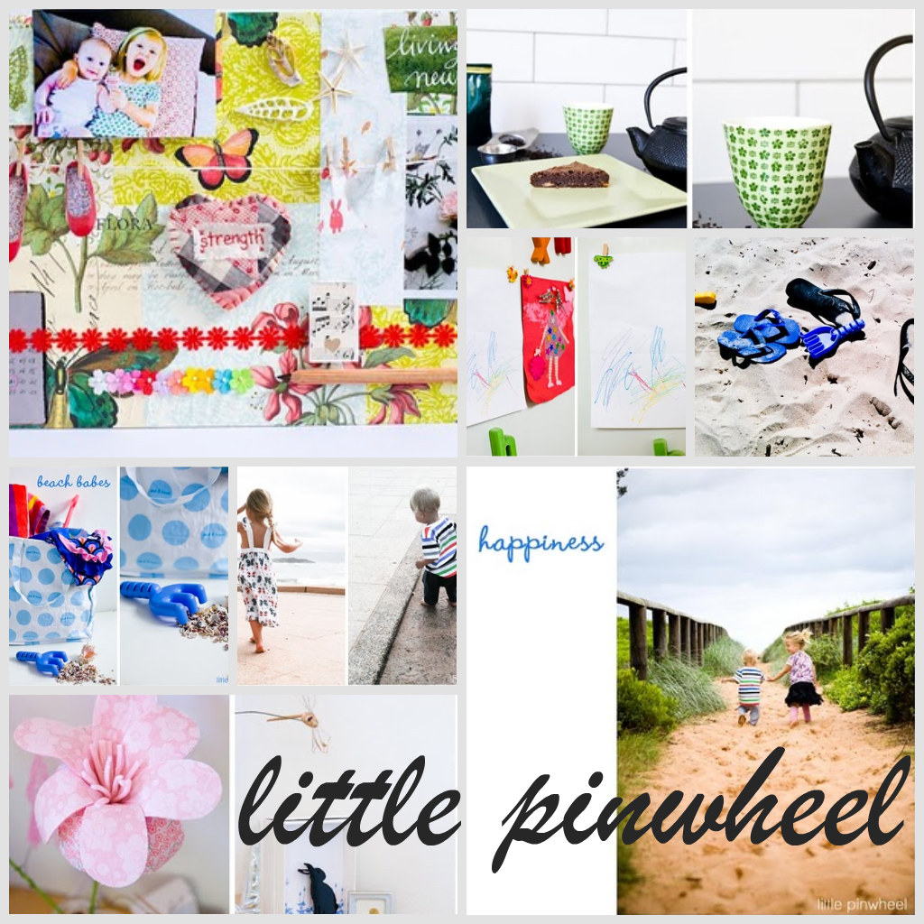 "blog feature ""little pinwheel"""