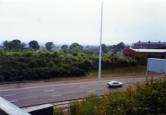 Image titled Bridge Over Motorway on Ruchazie Side 1994