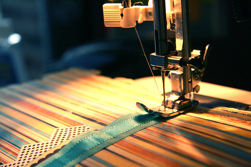Ruffled Ribbon Embellishment DIY