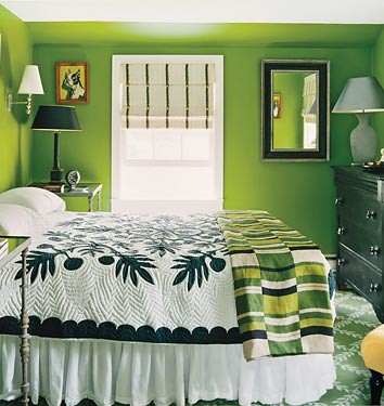 Grass Green bedroom Dominomagcom