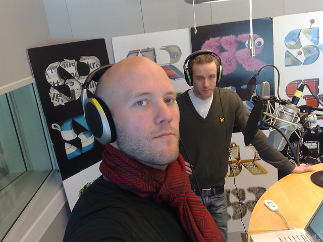 Me doing radio (SR P1 program På Nätet)