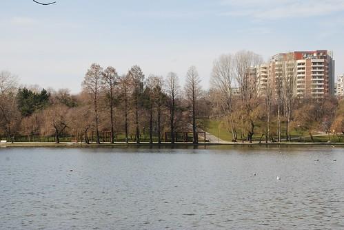 la plimbare prin parcul Titan