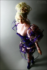 hoStyle Garden (Koroleva Irina) Tags: doll violet lilac couture heartsease sybarite queenb superfrock ooakfashion