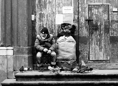 Helpless... (modestino68) Tags: bw bn napoli naples neilyoung helpless poveri