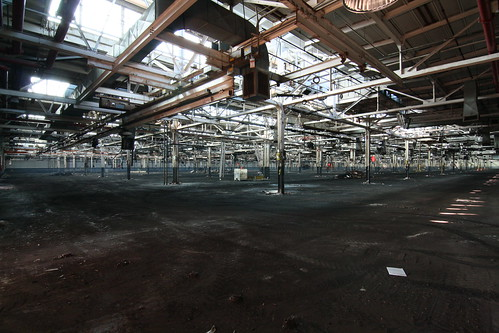 COLUMBUS OHIO DELPHI PLANT MAIN FLOOR AREA