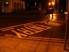 Waiting for V @ Molloy's corner