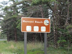 Marconi Beach Sign (The Cape Cod 2) Tags: sign capecod wellfleet marconi marconibeach