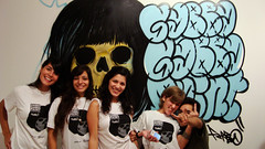 Gabba Gabba Paint / Ciudad de Cordoba (parbo art) Tags: joe tommy ramones johnny deedee parbo tiendafuencarral gabbagabbapaint soloexposition