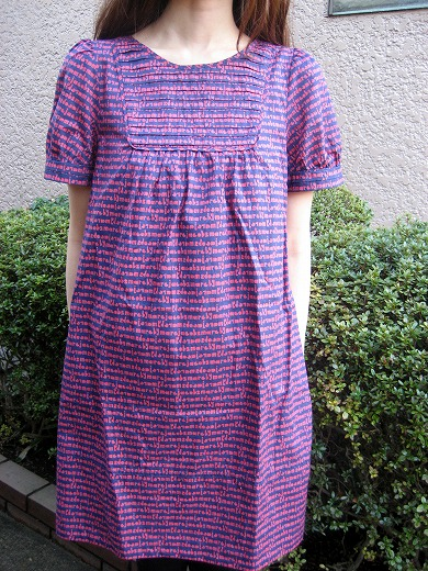 Cotton Script Dress from Marc by Marc Jacobs